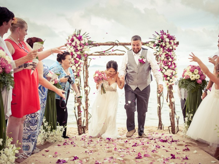 Wedding at Peace Resort
